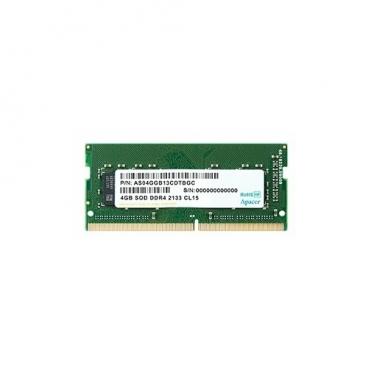 Оперативная память 4 ГБ 1 шт. Apacer DDR4 2133 SO-DIMM 4Gb