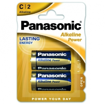 Батарейка Panasonic Alkaline Power C/LR14