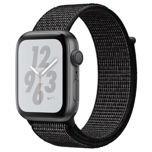 Часы Apple Watch Series 4 GPS 44mm Aluminum Case with Nike Sport Loop
