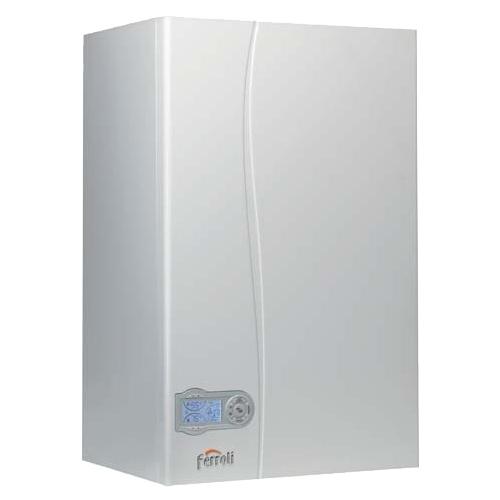 Газовый котел Ferroli Divatech D C 32 31.3 кВт двухконтурный