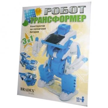 Электромеханический конструктор BRADEX DE0176 Робот-трансформер