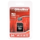 Карта памяти OltraMax microSDXC Class 10 UHS-1 + SD adapter