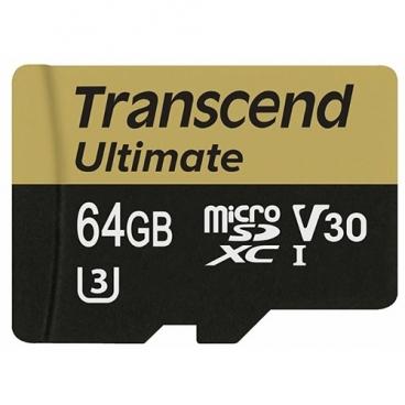 Карта памяти Transcend TS64GUSDU3M