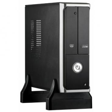 Компьютерный корпус ExeGate MI-205 w/o PSU Black/silver