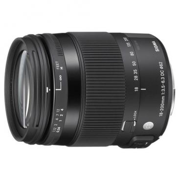 Объектив Sigma AF 18-200mm f/3.5-6.3 DC Macro OS HSM Contemporary Nikon F