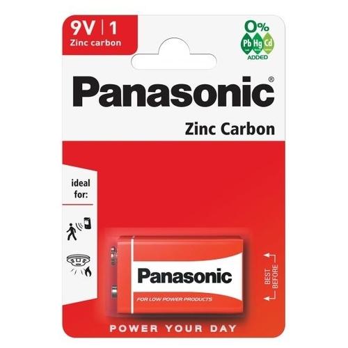 Батарейка Panasonic Zinc Carbon Крона/6F22