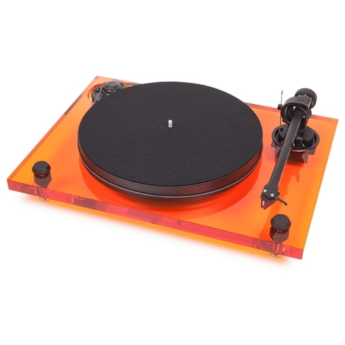 Виниловый проигрыватель Pro-Ject 2 Xperience Primary Acryl 2M Red