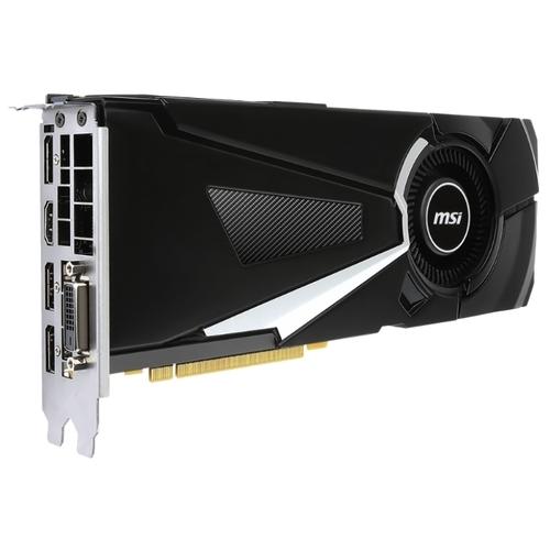 Видеокарта MSI GeForce GTX 1070 Ti 1607MHz PCI-E 3.0 8192MB 8008MHz 256 bit DVI HDMI HDCP Aero
