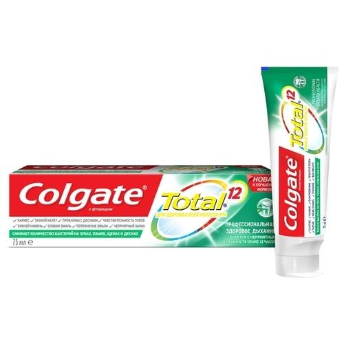 Зубная паста Colgate Total 12 Pro Здоровое дыхание