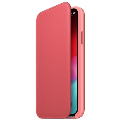 Чехол Apple Folio кожаный для Apple iPhone XS