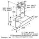 Каминная вытяжка Bosch DWK095G60R