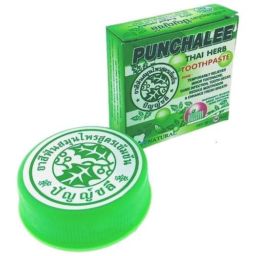 Зубная паста Punchalee травяная