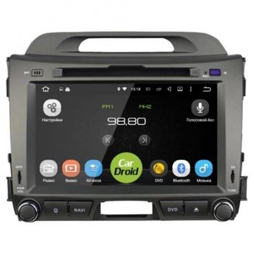 "Автомагнитола ROXIMO CarDroid RD-2311D KIA Sportage 3 8"" (Android 8.0)"