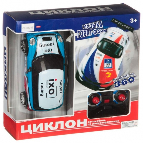 Машинка Zhorya Циклон М40609 на аккумуляторе