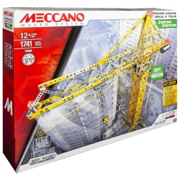 Винтовой конструктор Meccano STEM 15308 Гигантский кран