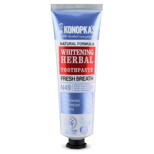 Зубная паста Dr. Konopka's N49 Отбеливающая травяная