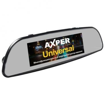 Видеорегистратор AXPER Universal, 2 камеры, GPS
