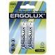 Аккумулятор Ni-Mh 1100 мА·ч Ergolux Rechargeable batteries AAA