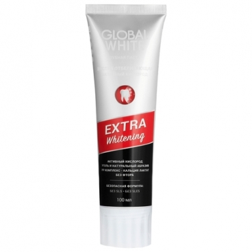 Зубная паста Global White Extra Whitening Active Oxygen Ice Mint