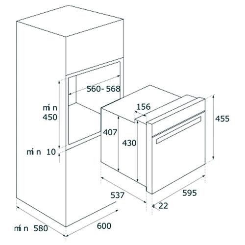 Электрический духовой шкаф TEKA HLC 860P (41534020)