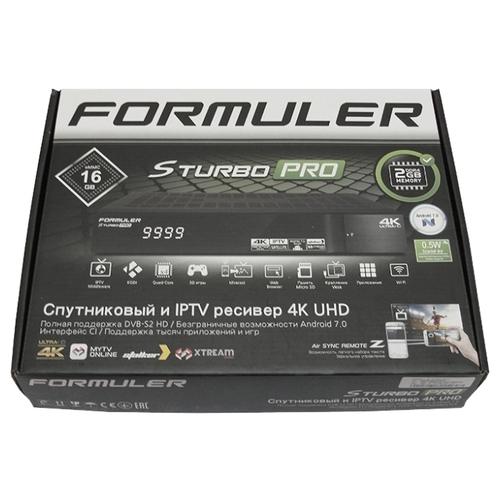 Спутниковый ресивер Formuler S Turbo Pro