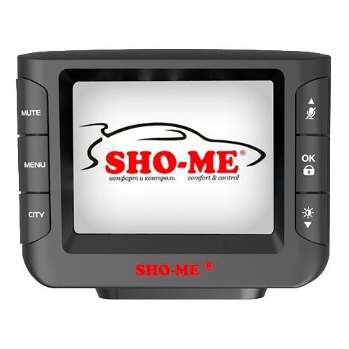 Видеорегистратор с радар-детектором SHO-ME Combo Wombat