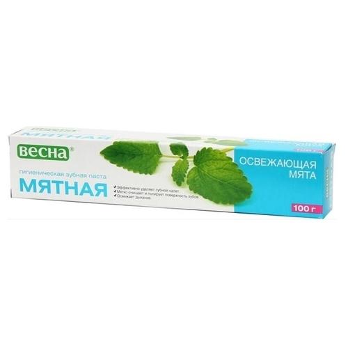 Зубная паста Весна Освежающая мята