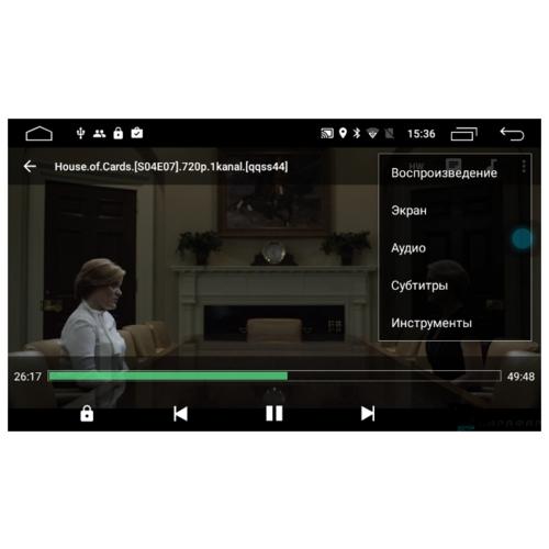 Автомагнитола Parafar Mercedes R class без DVD Android 8.1.0 (PF212KHD)