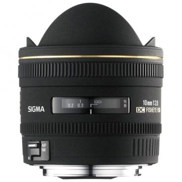 """Объектив Sigma AF 10mm f/2.8 EX DC HSM Fisheye Nikon F"""""""