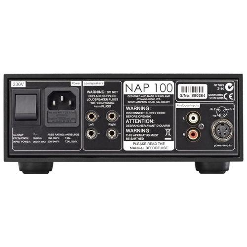 Усилитель мощности Naim Audio NAP 100