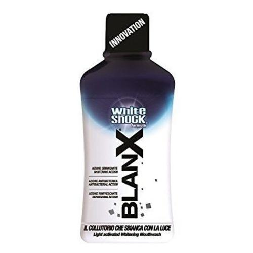 BlanX White Shock Antibacterial Mouthwash Instant White, Антибактериальный ополаскиватель для полости рта Быстрое отбеливание