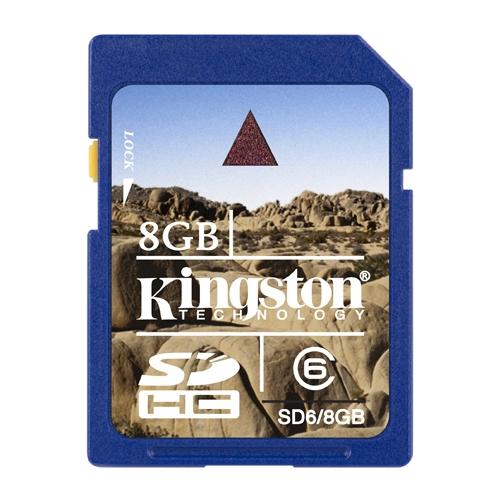 Карта памяти Kingston SD6/8GB