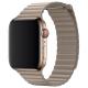 Apple Кожаный ремешок (для корпуса 44 мм), размер L