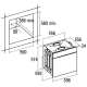 Электрический духовой шкаф CATA MRA 7108 IV
