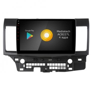 Автомагнитола ROXIMO S10 RS-2612 Mitsubishi Lancer X (Android 8.1)