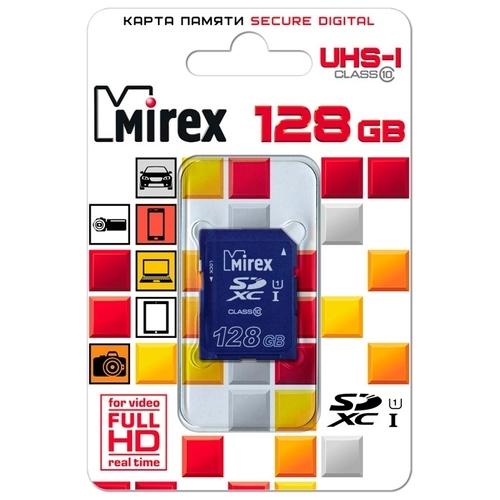 Карта памяти Mirex SDXC Class 10 UHS-I U1