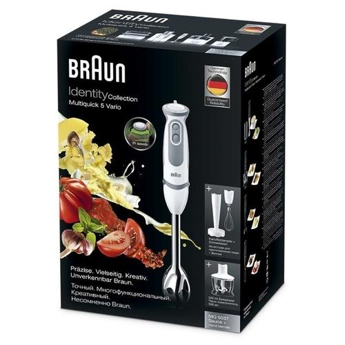 Погружной блендер Braun MQ 5037 WH Sauce+