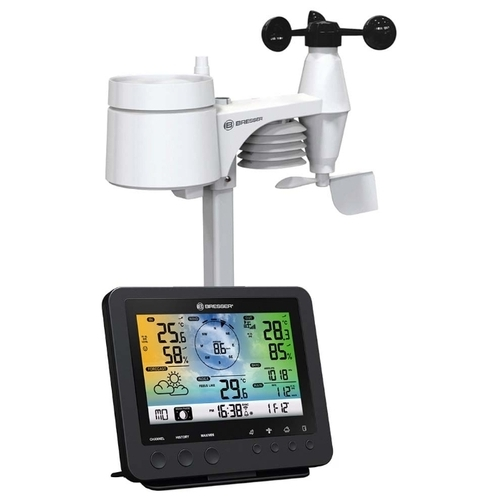 Метеостанция BRESSER 5-в-1 Wi-Fi с цветным дисплеем (73261)
