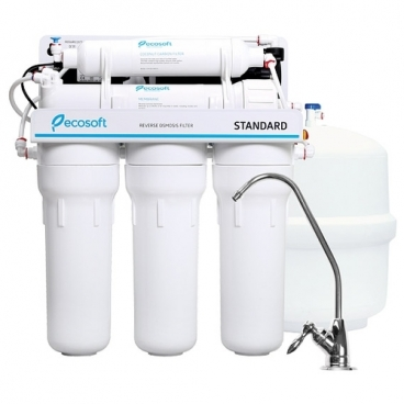 Фильтр под мойкой ECOSOFT Ecosoft Standard с помпой пятиступенчатый