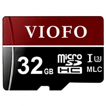 Карта памяти VIOFO Professional High Endurance microSDHC UHS-3 32GB + SD adapter