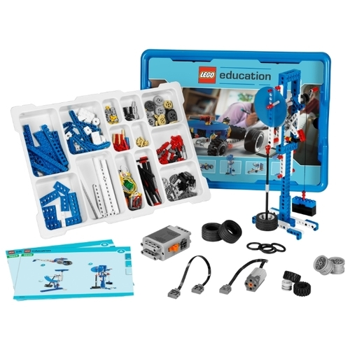 Электромеханический конструктор LEGO Education Machines and Mechanisms Технология и основы механики 9686