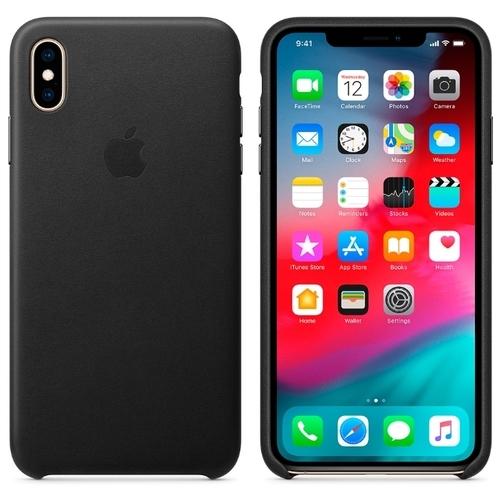 Чехол Apple кожаный для Apple iPhone XS Max