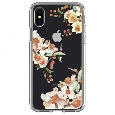 Чехол Spigen Liquid Crystal Aquarelle для Apple iPhone X/Xs (057CS22785)