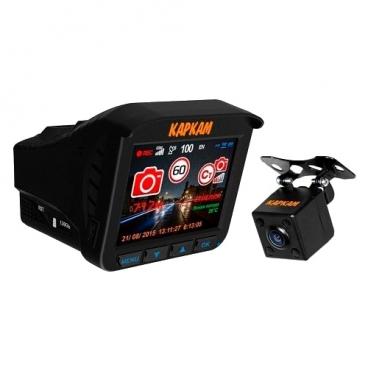 Видеорегистратор с радар-детектором CARCAM Комбо 3S