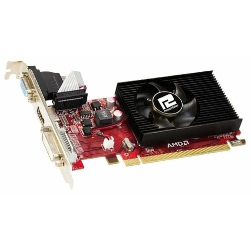 Видеокарта PowerColor Radeon R5 230 625Mhz PCI-E 2.1 1024Mb 1000Mhz 64 bit DVI HDMI HDCP