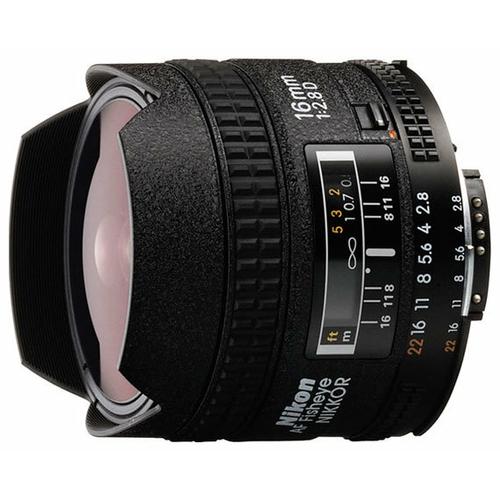 "Объектив Nikon 16mm f/2.8D AF Fisheye-Nikkor"""