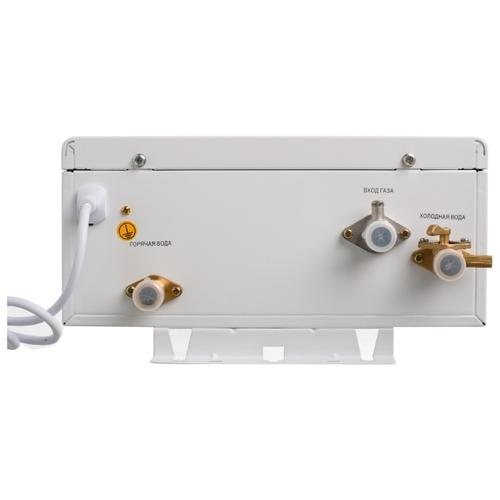 Проточный газовый водонагреватель Superflame SF0424T (турбо с модуляцией пламени)