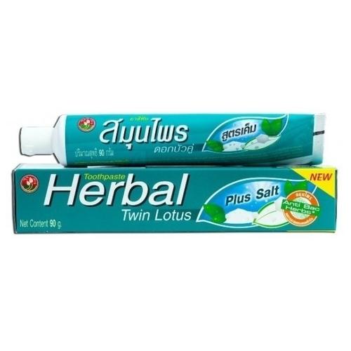 Зубная паста Twin Lotus Herbal С солью