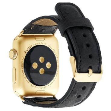 Burkley Кожаный ремешок Bouletta Classic DE5 для Apple Watch 38/40 mm