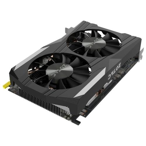 Видеокарта ZOTAC GeForce GTX 1050 Ti 1392Mhz PCI-E 3.0 4096Mb 7008Mhz 128 bit DVI HDMI HDCP OC Edition
